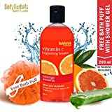 BodyHerbals Brightening Booster Orange & Aloe Vera Shower gel with skin conditioners, Beauty,Bath & Shower, Soaps & Body Washes,Body Wash,(200ml)