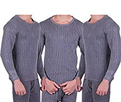 Zimfit Mens Winter Warmer Full Sleeves Ultra Thermal (Upper) (100) 3PC