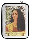 Self Portrait With Loose Hair Frida Kahlo Painting Laptop Case 13 14 15 13