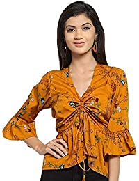 7fb074faa3954 Yellows Women s Tops  Buy Yellows Women s Tops online at best prices ...