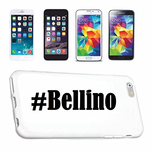 cubierta-del-telefono-inteligente-huawei-p9-hashtag-bellino-en-red-social-diseno-caso-duro-de-la-cub