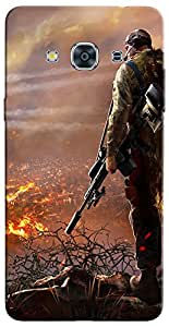 APE Printed Back Cover for Samsung Galaxy A3