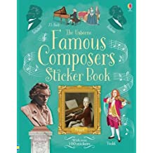 Famous Composers Sticker Book (Sticker Books) by Anthony Marks (2016-05-01)