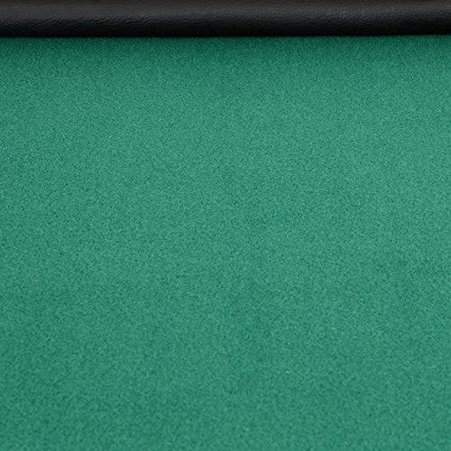 Nexos Profi Casino Pokertisch klappbar 8-eckig 120 x 120 cm Höhe 76 cm, Getränkehalter Armauflagen Pokerauflage Tischauflage Klapptisch - 3