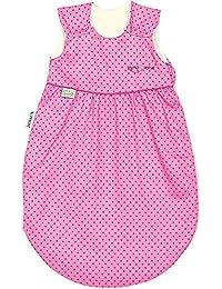 Odenwälder Klima Soft Schlafsack cold Sternchen, Größe:110;Design:Sternchen pink