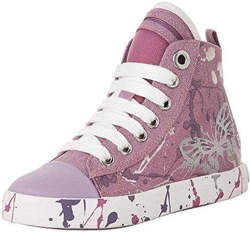 Geox Mädchen Jr Ciak Girl C High-Top Pink (FUCHSIA/WHITEC0886)