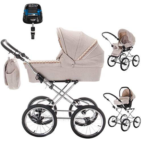Friedrich Hugo baby's moving art Retro-Kinderwagen Hugo Silver im Test