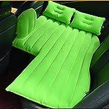 Materassini gonfiabili da viaggio per auto Cuscino prendisole per bambini Cuscino per protezione sedili SUV Sedan e camion Campeggio, verde