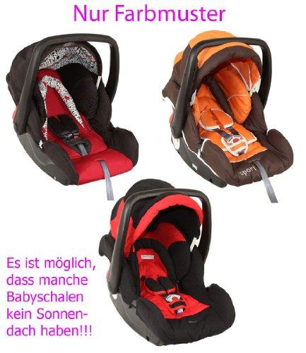 Babyschale Protect für Mädchen von UNITED-KIDS, Farbe nach Zufall, Gruppe 0+, 0-13 kg
