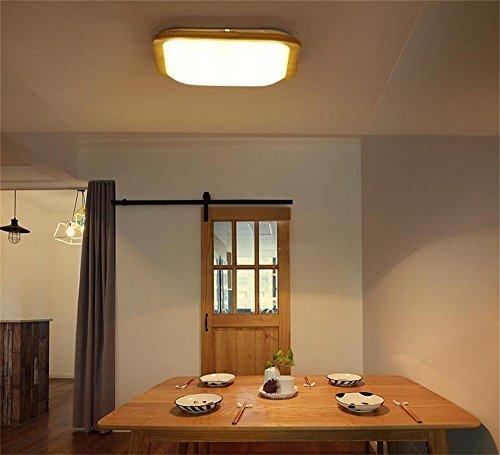 FUFU Innenbeleuchtung Kreative Holzdecke Nordic Minimalistische Wohnzimmer  Lampe Schlafzimmer Lampe