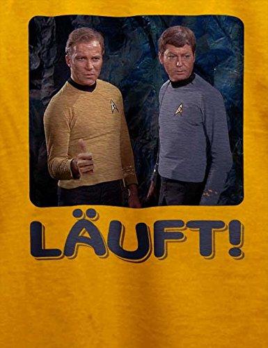 Laeuft 63 T-Shirt Gelb