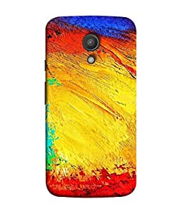PrintVisa Designer Back Case Cover for Motorola Moto G2 :: Motorola Moto G (2nd Gen) (Colourful Painting Drawing Art)