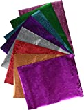 Hygloss Papier Specialty 21,6 x 11-inch-Embossed Metallic