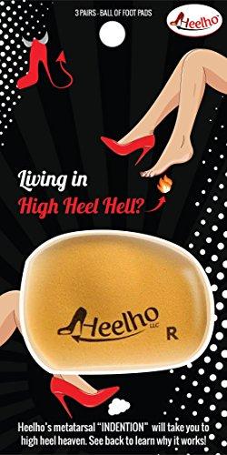 Heelho - Lebt in High-Heel-Hölle? Versuchen Sie die einzige Einlage, die Sie zum High-Heel-Himmel bringen kann! Von Heelho (High-heel-füße)