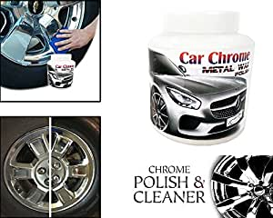 Emerging-Chrome & Metal Polish Paste Scratch Repair Multifunctional Polishing For Copper Silver Metal Stainless Steel Tools (500 Grms) for Renault Duster