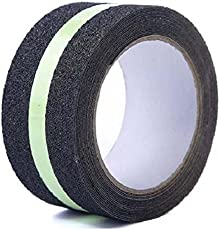 Bapna Anti Slip tape With Glow In Dark Strip in Centre 50 Mm x 5 Meter Roll