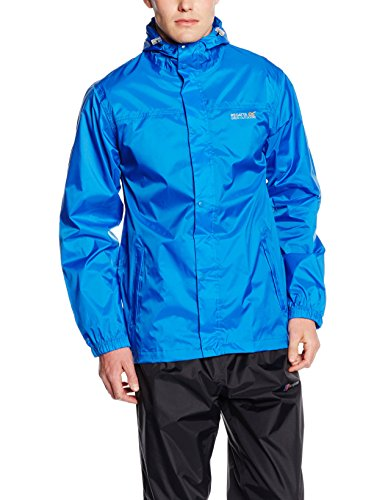 Regatta Herren Pack It II Wasserdichte Jacke Blau - Marineblau
