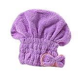 Cuffia microfibra capelli da donna per turbante per asciugare i capelli lunghi...