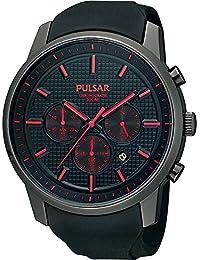 Pulsar PT3195X1 - Reloj de Caballero movimiento de cuarzo con correa de caucho