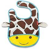 Skip Hop Zoo Bib-Giraffe (Brown/Yellow/White)