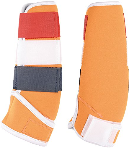 Harry 's Horse 33201292 – 02 X L Polainas Country, XL, Naranja/Rojo/Blanco/Azul
