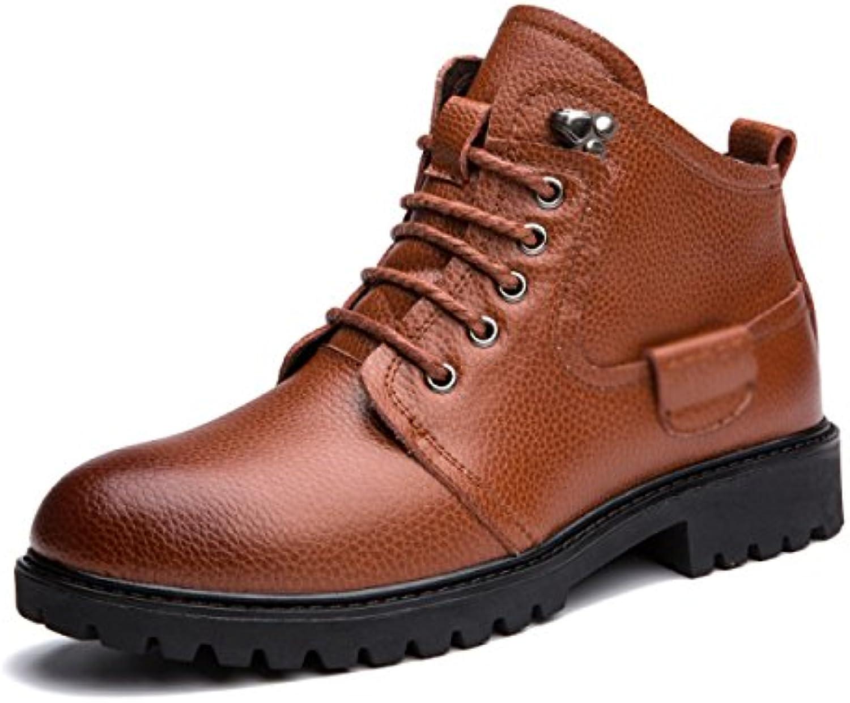 Herren Winter Baumwollschuhe Plus Kaschmir Warm halten Lässige Schuhe Gemütlich Flache Schuhe Draussen Freizeitschuhe