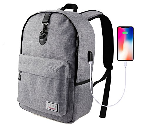 Laptop Backpack,Beyle Slim Anti-theft Water Resistant Travel Laptop Backpacks For Men Women With USB