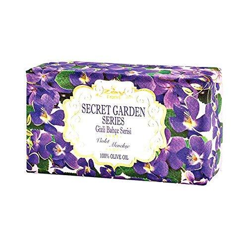 OLIVOS Secret Garden Series Savon Violet 250 g