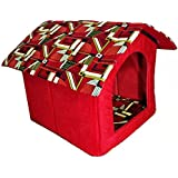 [Sponsored]Pets Empire Portable Soft Padded Warm & Comfortable Cat House (Color & Design May Vary)