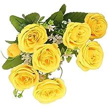 suchergebnis auf f r kunstblumen gelbe rosen. Black Bedroom Furniture Sets. Home Design Ideas