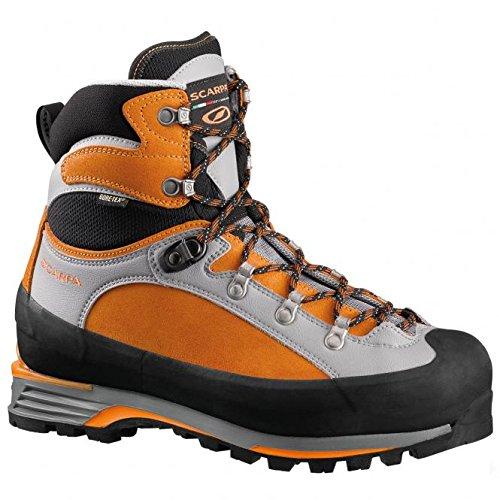 Scarpa Herren Alpine Bergschuhe orange 43 1/2