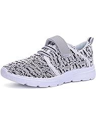 SITAILE Unisex Damen Herren Kinder Flache Mot Freizeitschuhe Laufschuhe Sportschuhe Schnüren Sneakers für Familienaktivitäten im Freien