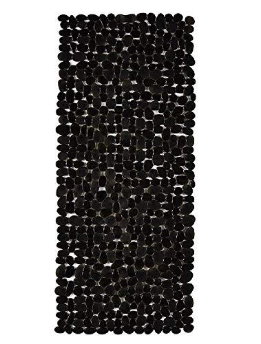 Domowin Badematte, Badewannenmatte mit 200 Saugnäpfen Badewanneneinlage Rutschfeste Duschmatte 100 x 40 cm