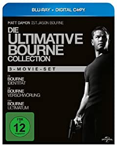 Die ultimative Bourne Collection [Blu-ray]