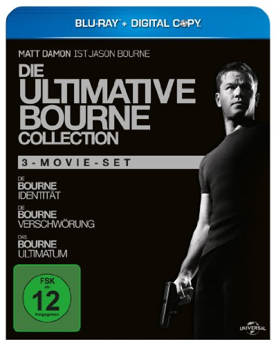Universal Pictures Germany GmbH Die ultimative Bourne Collection (+ Digital Copy) [Blu-ray]