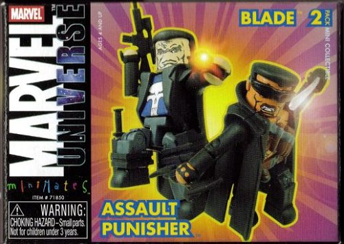 Art Asylum Marvel Minimates Series 9 Blade Assault Punisher by Minimates