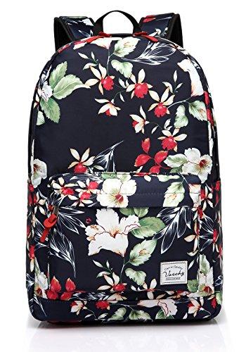 Imagen de  escolar para niñas, vaschy  de viaje floral de las mujeres ligeras  casual alternativa