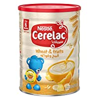 Nestle Cerelac Infant Cereal Wheat & Fruits - 1kg Tin, 12265782