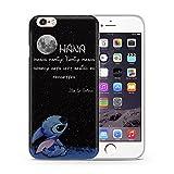 iPhone 5/5s Lilo & Stitch Cassa del Silicone / Copertura del Gel per Apple iPhone 5s 5 SE / Protezione dello Schermo e Panno / iCHOOSE / Citazione - Luna