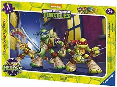 Ravensburger - 06126 - Puzzle - Prêts à l'action Ninja Tortue Ninja l'action - 15 pièces c63222