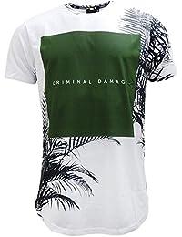 Criminal Damage - Camiseta - camisetas - Básico - Manga corta - para hombre