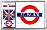 Kühlschrankmagnet St Pauls London U-Bahn Geschenk Tourist Souvenir