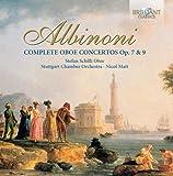 Tomaso Albinoni : Concertos pour Haubois (Intégrale)