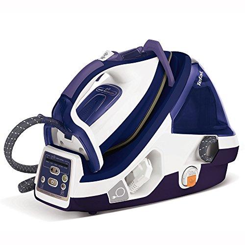 Tefal Pro X-Pert Plus GV8977 Dampfbügelstation (2.400 W, Variabler Dampf 0-120 g/min., Dampfstoß 450 g/min., Power-Zone: 360 g/min., automatische Abschaltung, 7,2 Bar) lila/weiß