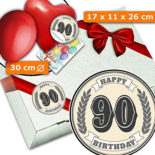 90. Geburtstag Idee - Geschenkkisten - Geschenke 90 Geburtstag lustig