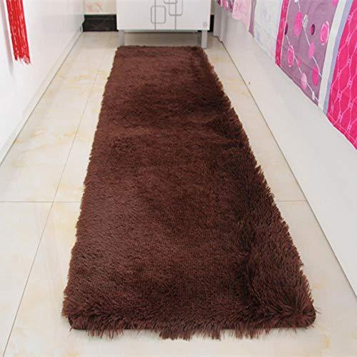 LIKEZZ Multi Farben Einfache Thema Badezimmer Matte Boden Teppich 7 Farben Badezimmer Teppich Pad Home Decor Badematte Für Wc Bett, Kaffee, ca. 60x160 cm