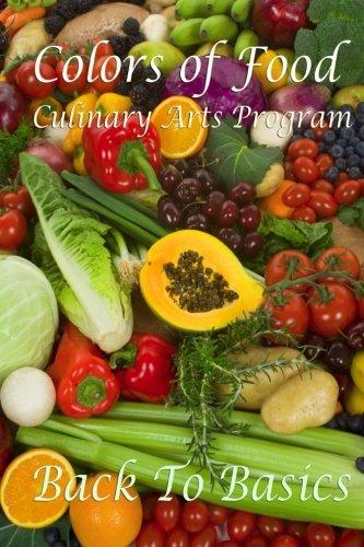Colors of Food: E-Workbook #1: Volume 1 (Colors of Food Workbooks)