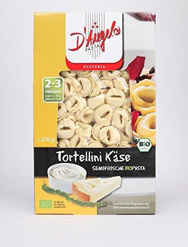 D'Angelo Bio Tortellini Käse, semifrische Teigware, gefüllt (1 x 250 gr)