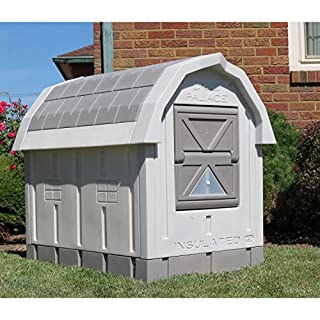 ASL Solutions Dog Palace for Med to Large Dogs - Gray by ASL Solutions