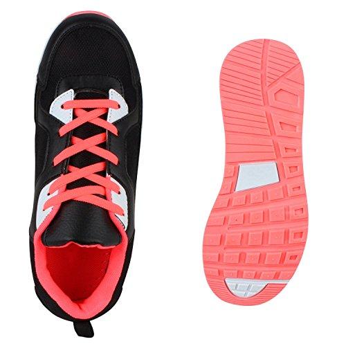 Damen Herren Unisex Laufschuhe Neon Runners Casual Schuhe Sportschuhe Leopard Coral Cabanas